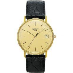 PROMOCJA ZEGAREK TISSOT T-GOLD T71.3.401.21. Żółte zegarki męskie marki TISSOT, złote. W wyprzedaży za 4435,20 zł.