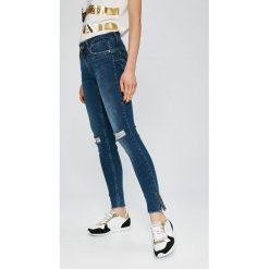 Liu Jo - Jeansy. Niebieskie jeansy damskie marki Liu Jo, z bawełny, z obniżonym stanem. Za 659,90 zł.