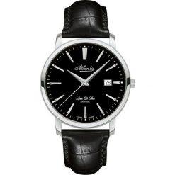 Zegarek Atlantic Męski Super De Luxe 64351.41.61 Szafirowe szkło. Niebieskie zegarki męskie Atlantic, szklane. Za 1527,99 zł.
