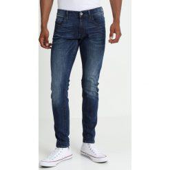 GStar 3301 DC SKINNY Jeans Skinny Fit brantley stretch denim medium aged. Niebieskie rurki męskie G-Star, z bawełny. Za 419,00 zł.