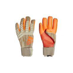 Rękawiczki adidas  Rękawice Predator Pro 78/18. Brązowe rękawiczki damskie marki Adidas. Za 549,00 zł.