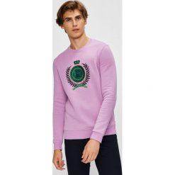 Scotch & Soda - Bluza. Różowe bluzy męskie rozpinane Scotch & Soda, l, z aplikacjami, z bawełny, bez kaptura. W wyprzedaży za 269,90 zł.