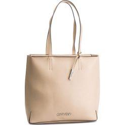 Torebka CALVIN KLEIN - Stitch Ew Shopper K60K604844 638. Brązowe shopper bag damskie Calvin Klein, ze skóry ekologicznej. Za 599,00 zł.