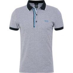 BOSS ATHLEISURE PAULE SLIM FIT Koszulka polo black. Niebieskie koszulki polo marki Tiffosi. Za 419,00 zł.