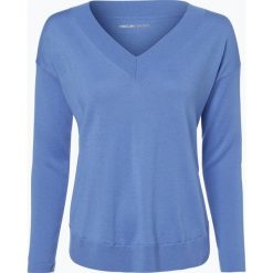 Odzież damska: Marc Cain Sports – Sweter damski z dodatkiem kaszmiru, niebieski