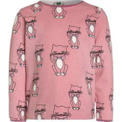 Bluzki dziewczęce bawełniane: Småfolk WITH CAT Bluzka z długim rękawem blush
