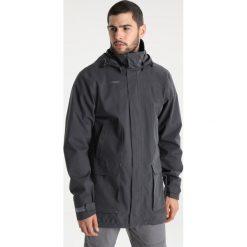 Bergans SYVDE  Kurtka hardshell solid charcoal/solid dark grey. Szare kurtki trekkingowe męskie marki Bergans, m, z bawełny. W wyprzedaży za 734,30 zł.