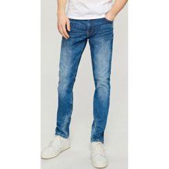Rurki męskie: Jeansy slim fit high flex - Niebieski