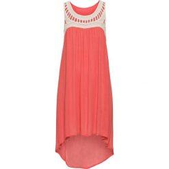 Sukienki: Sukienka z szydełkową koronką bonprix piaskowo-koralowy