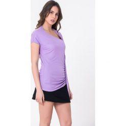 Bluzki, topy, tuniki: T-shirt w kolorze fioletowym