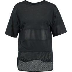 Topy sportowe damskie: Nike Performance BREATHE Tshirt z nadrukiem black