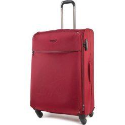 Średnia Materiałowa Walizka PUCCINI - EM 50380 B 3 Red. Czerwone walizki Puccini, z materiału, średnie. W wyprzedaży za 319,00 zł.