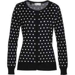 Sweter rozpinany bonprix czarno-biały. Szare kardigany damskie marki Reserved, l. Za 89,99 zł.