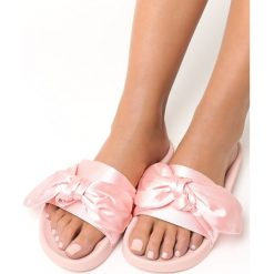 Klapki damskie: Różowe Klapki Perfect