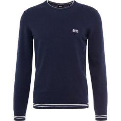 BOSS ATHLEISURE RIMEX Sweter navy. Niebieskie swetry klasyczne męskie marki BOSS Athleisure, m. Za 499,00 zł.
