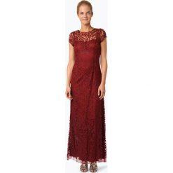 Sukienki: Niente – Damska sukienka wieczorowa, czerwony