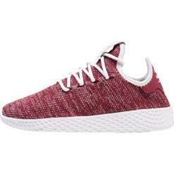 Buty dziecięce: adidas Originals PW TENNIS HU Tenisówki i Trampki footwear white/collegiate burgundy