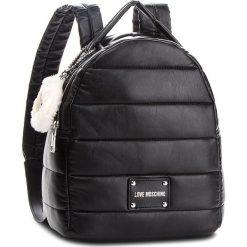 Plecak LOVE MOSCHINO - JC4256PP06KH0000  Nero. Czarne plecaki damskie Love Moschino, ze skóry ekologicznej, klasyczne. Za 929,00 zł.