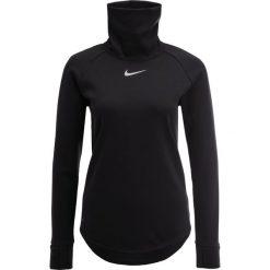 Nike Golf ARORCT Bluza black/silver. Czarne bluzy damskie Nike Golf, xl, z materiału. W wyprzedaży za 440,10 zł.