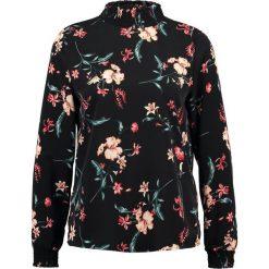 Bluzki asymetryczne: Vila VIMABEL HIGH NECK Bluzka black