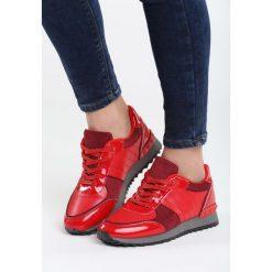 Czerwone Buty Sportowe All Rounds On Me. Pomarańczowe buty sportowe damskie marki Born2be, z materiału. Za 69,99 zł.