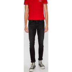 Wrangler - Jeansy Larston. Czarne jeansy męskie slim Wrangler, z bawełny. Za 319,90 zł.