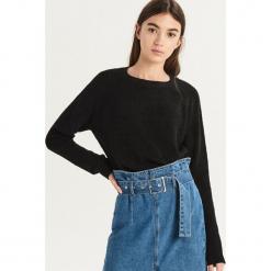 Luźny sweter - Czarny. Czarne swetry klasyczne damskie Sinsay, l. Za 49,99 zł.