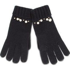 Rękawiczki damskie: Rękawiczki Damskie LIU JO - Guanti Maglia Perle N68308 M0300 Nero 22222