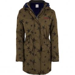 Kurtka w kolorze khaki. Brązowe kurtki dziewczęce marki Reserved, l, z kapturem. W wyprzedaży za 177,95 zł.