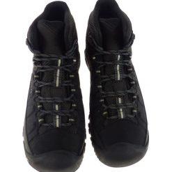 Buty trekkingowe męskie: Keen Buty męskie Targhee EXP Mid WP Black/Steel Grey r. 44 (117715) [outlet]
