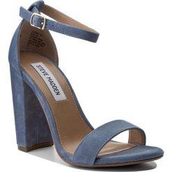 Sandały damskie: Sandały STEVE MADDEN – Carrson 91000008-0W0-10003-04001 Blue