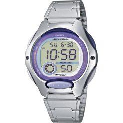 Zegarek Casio Damski LW-200D-6AV srebrny. Szare zegarki damskie CASIO, srebrne. Za 134,00 zł.