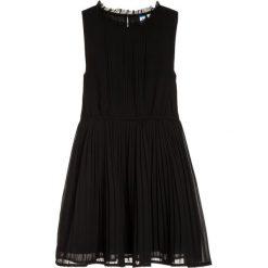 Sukienki dziewczęce z falbanami: Friboo Sukienka koktajlowa black