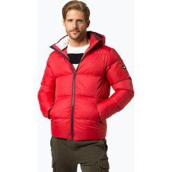 Tommy Jeans - Męska kurtka puchowa, czerwony. Czerwone kurtki męskie bomber Tommy Jeans, m, z jeansu. Za 899,95 zł.