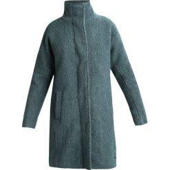 Nümph LIBENTINA Płaszcz wełniany /Płaszcz klasyczny trooper. Niebieskie płaszcze damskie pastelowe Nümph, z materiału, klasyczne. W wyprzedaży za 575,20 zł.