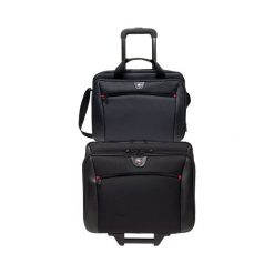 """Torba Swissgear Potomac 17"""" z dodatkową torbą na laptopa 15.6"""" (600661). Czarne torby na laptopa marki Swissgear. Za 513,60 zł."""