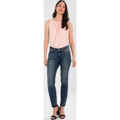 Bluzki asymetryczne: Cortefiel SLEEVELESS WITH GATHERED FRONT Bluzka pinks