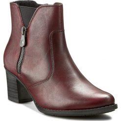 Botki RIEKER - Z7650-35 Red. Czarne buty zimowe damskie marki Rieker, z materiału. W wyprzedaży za 249,00 zł.