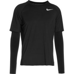 Koszulki sportowe męskie: Nike Performance RUN DIVISION Koszulka sportowa black/heather/reflective silver
