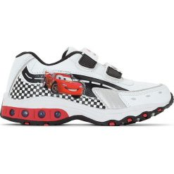 Buty sportowe Cars. Szare buty sportowe chłopięce Cars, z materiału, na obcasie. Za 110,84 zł.