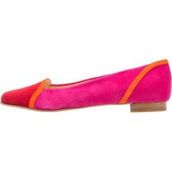 Baleriny damskie lakierowane: Brenda Zaro LUNA Baleriny tristan red/naranja fluo/pink ray