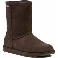 Buty EMU AUSTRALIA - Paterson Lo W10771 Brązowy. Brązowe buty zimowe damskie marki EMU Australia, z gumy. W wyprzedaży za 519,00 zł.
