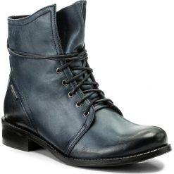 Botki LASOCKI - 60724-02 Granatowy. Niebieskie botki damskie Lasocki, ze skóry, na obcasie. Za 249,99 zł.