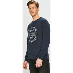 Mustang - Bluza. Czarne bluzy męskie rozpinane marki Mustang, l, z bawełny, z kapturem. Za 199,90 zł.