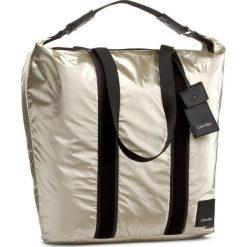 Shopper bag damskie: Torebka CALVIN KLEIN BLACK LABEL – Fluid Large Shopper K60K604043 617