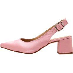 Buty ślubne damskie: Gardenia CUPITER  Czółenka satin pink