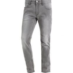 Jeansy męskie regular: Lindbergh Jeansy Slim Fit toned grey
