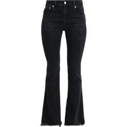 LOIS Jeans RAVAL EDGE KILIAN Jeansy Dzwony frayed black. Czarne jeansy damskie marki LOIS Jeans, z bawełny. Za 549,00 zł.