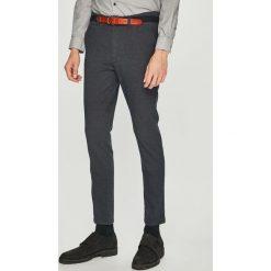 Selected - Spodnie. Szare rurki męskie marki bonprix, melanż, z dresówki. W wyprzedaży za 199,90 zł.