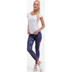 Sportowe legginsy galaxy H6006. Szare legginsy sportowe damskie marki Fasardi, xs. Za 59,00 zł.